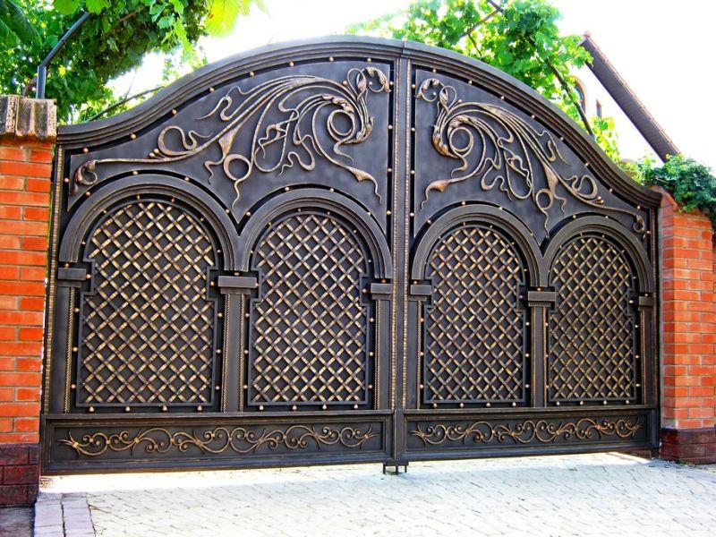 Высококачественные кованые ворота
