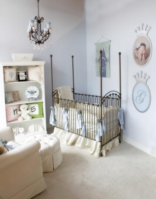 Кованая детская кроватка на заказ в Херсоне