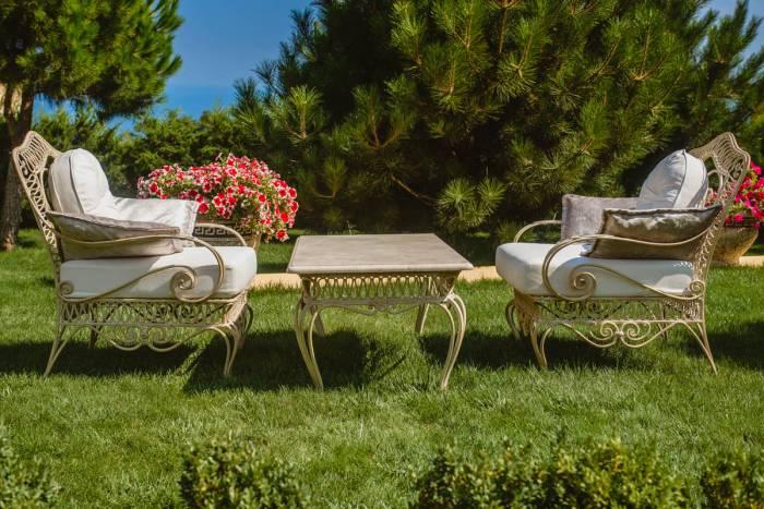 Кованная мебель для кафе, баров , ресторанов с летней площадкой