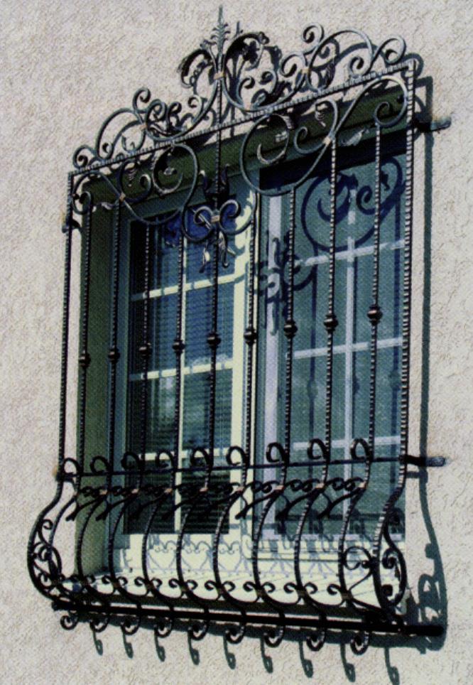 Кованые решетки в Херсоне по доступным ценам