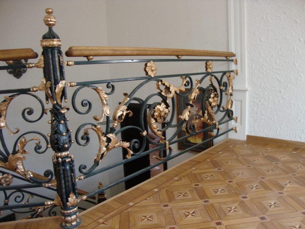 Перила кованые на заказ в Херсоне