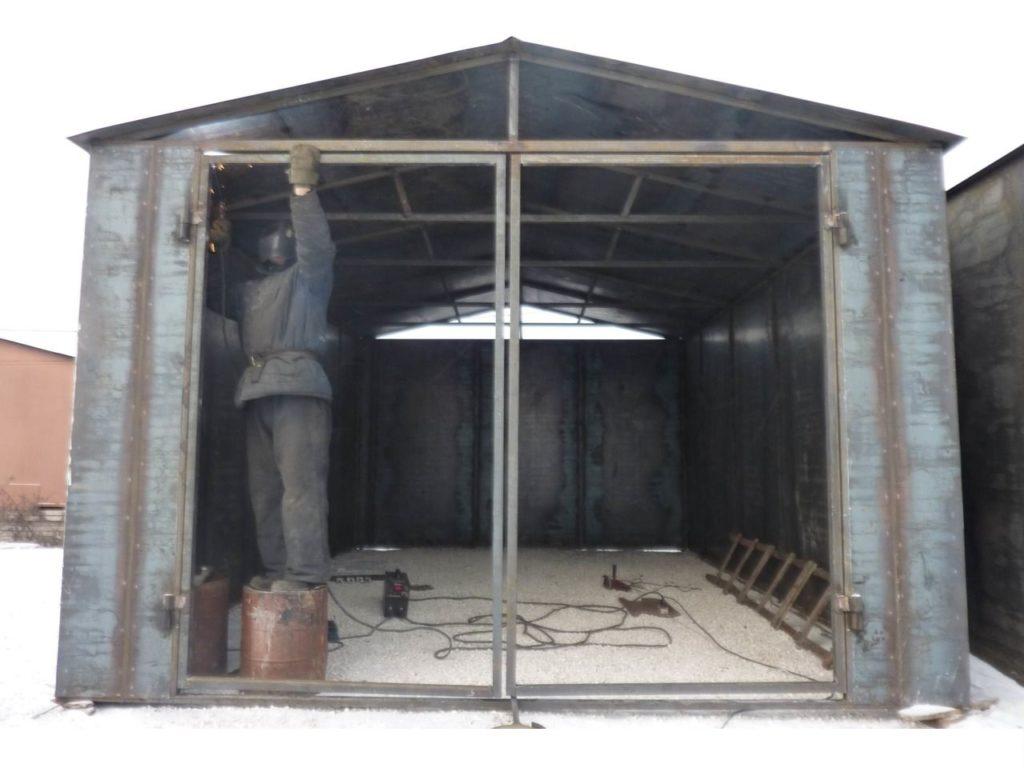 Сварка металлического гаража в Херсоне