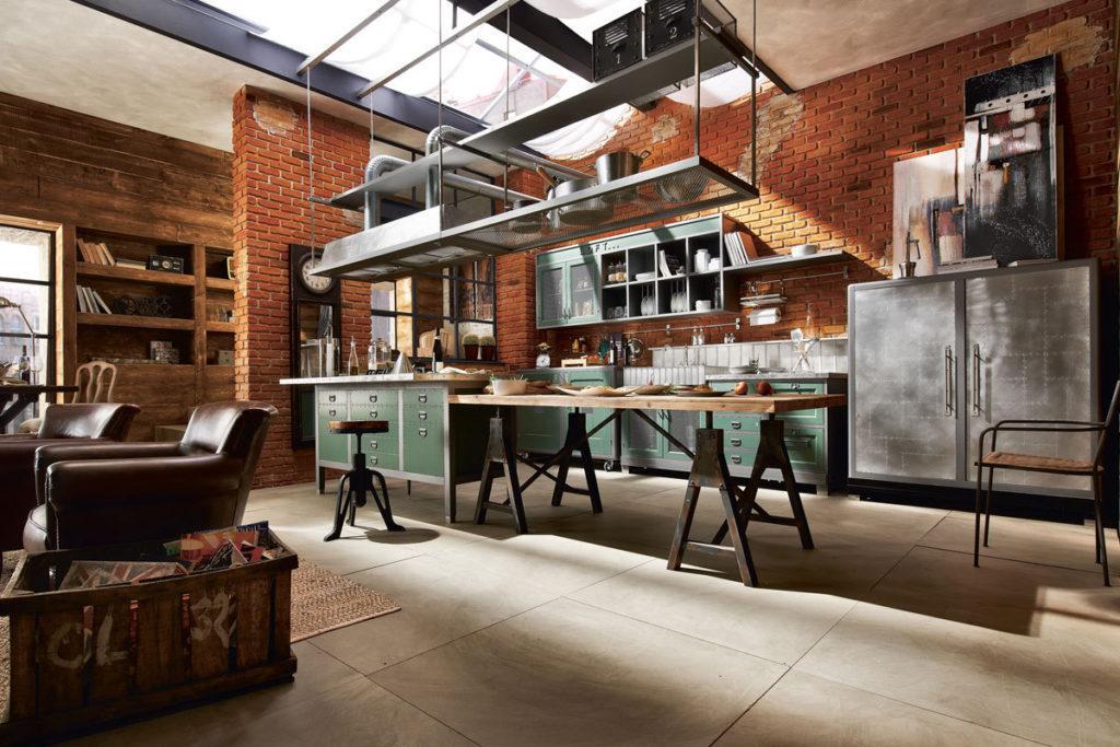 кухонная мебель в стиле лофт в херсоне профи строй кузня кухни