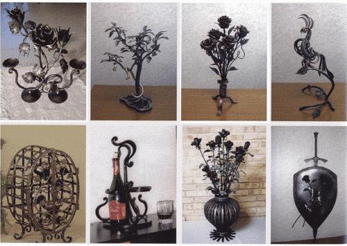 Кованые элементы декора в стиле арт-деко