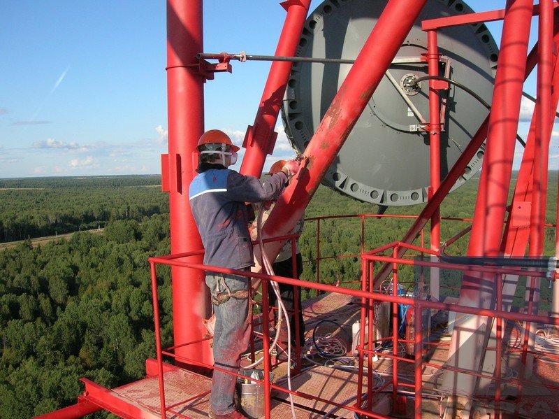 Подготовка металлоконструкции к покраске