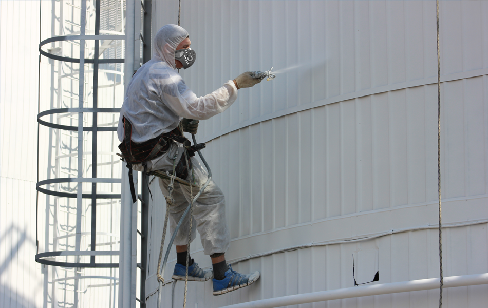 Услуги альпинистов высотников для покраски металлоконструкций в Херсоне