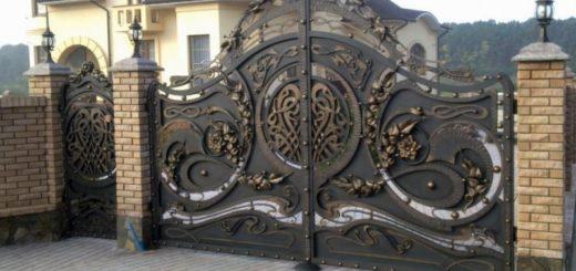 Изготовление металлических сварных изделий с элементами художественной ковки на заказ в Херсоне