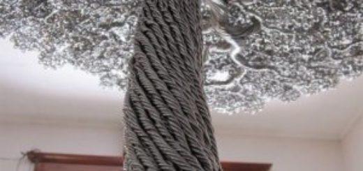Кованое дерево из прутьев на заказ в Херсоне