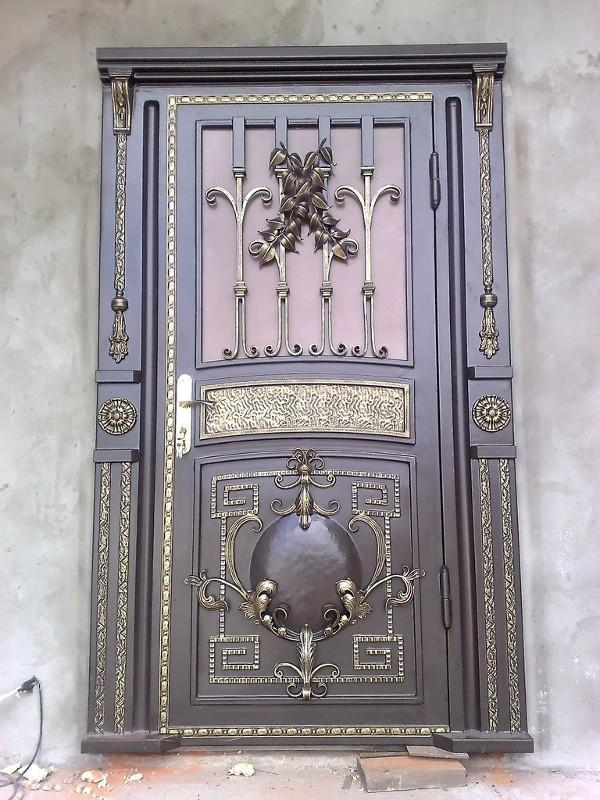 Купить кованые двери в Херсоне