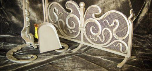 Производство кованых металлических каминных наборов в Херсоне на заказ