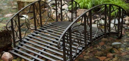 Декоративный садовый мостик на заказ в Херсоне