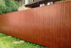 построить забор из профнастила кузня херсон