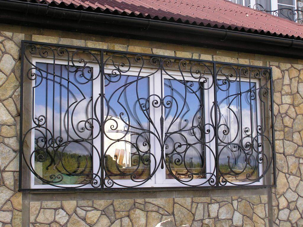 заказать решетки на окна и двери в херсоне кузня