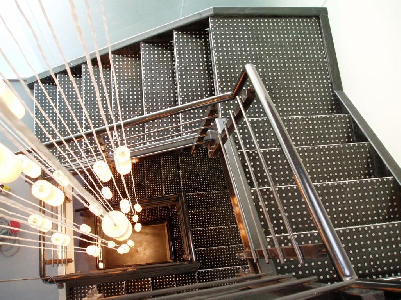 Лестница маршевая металлическая