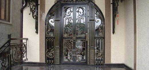Входные кованые двери в Херсоне на заказ изготовление и продажа